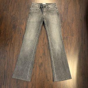 White House Black Market Blanc Gray Jeans Size 0